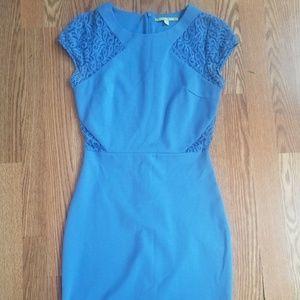Gianni Bini Womans XS Blue Cocktail Dress Mini